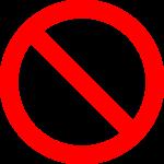 icone-interdit